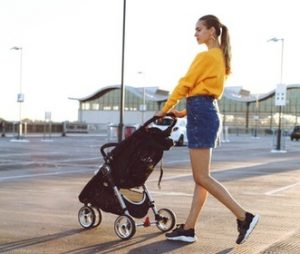 Traveling Items - Fold-able Stroller for Baby