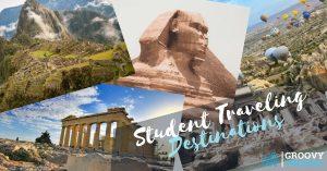 Student Traveling Destinations