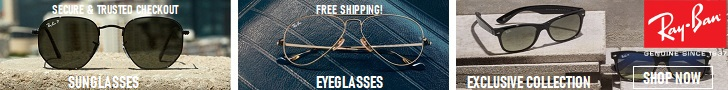 Ray-Ban is the only eyewear you need