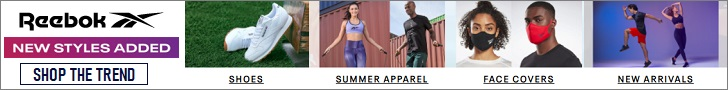 Shop your fitness needs only at Reebok